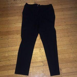 Boden Black Soft Work Pants